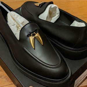 Men's Giuseppe Zanotti Wainer Leather Stud Loafers